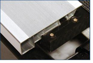 Sturdy Aluminum RailsSturdy Aluminum Rails and Belt