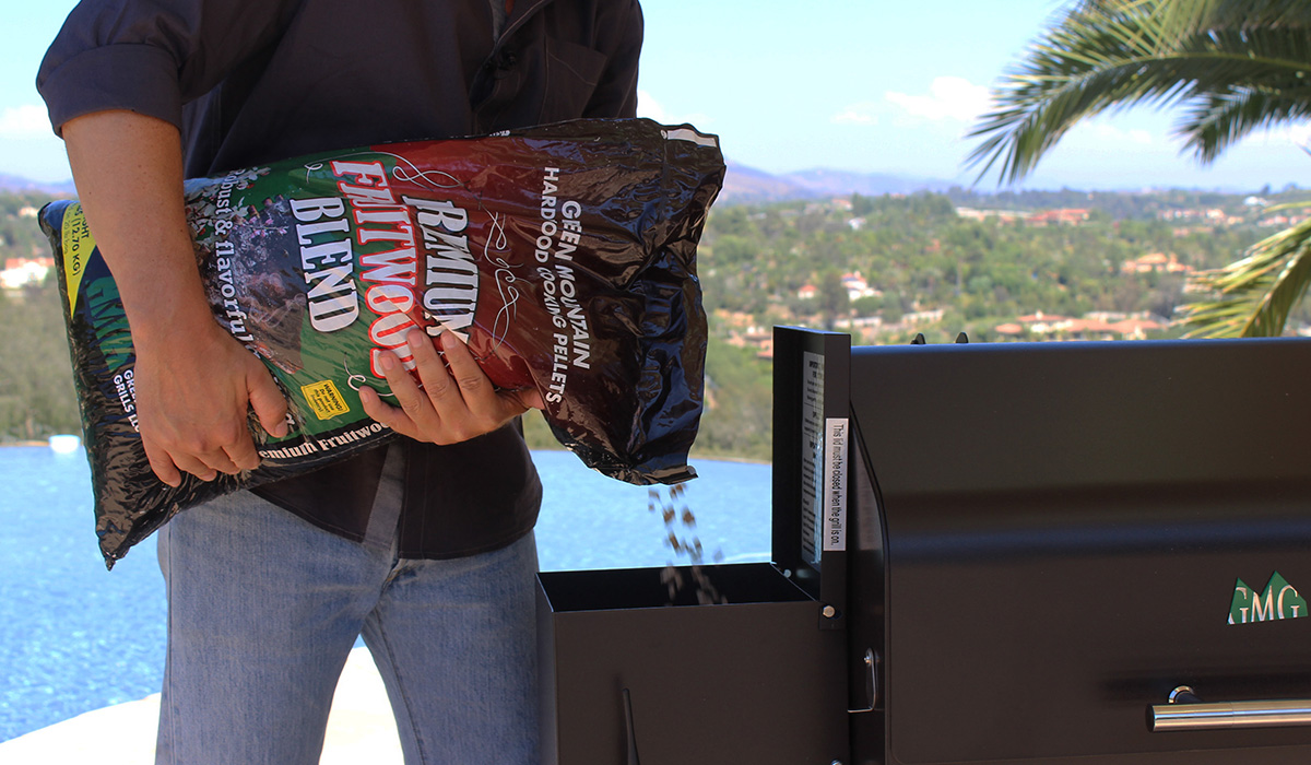 Green Mount Grill Wood Pellets
