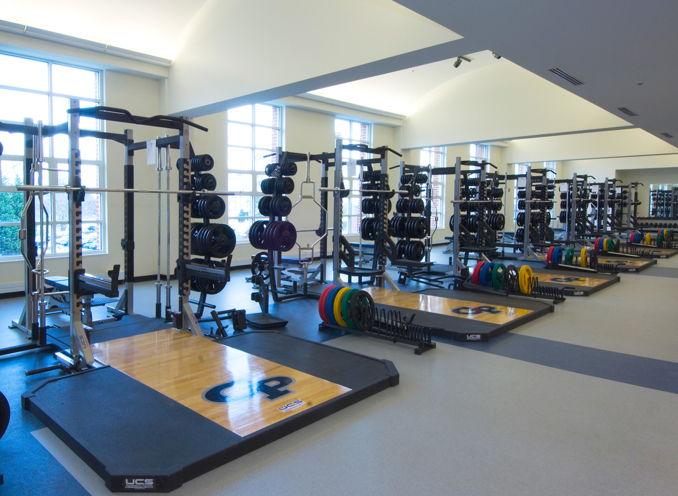 Georgetown Preparatory School - Leisure Fitness Equipment Commercial Solutions
