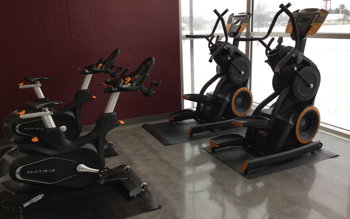 Exercise Equipment for Fire & Police Facilities
