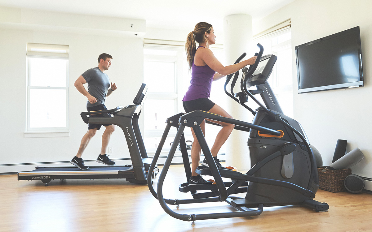 Matrix Elliptical & Treadmill