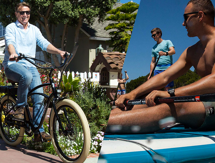 Electric Bikes & Inflatable Paddleboards
