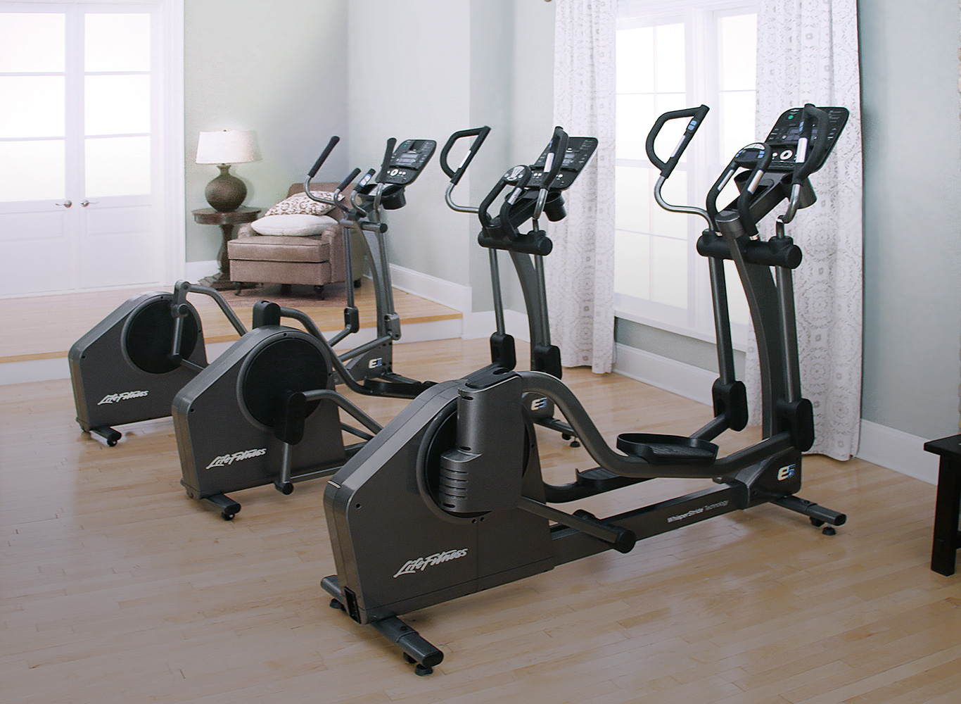 Introducing the Life Fitness E-Series Elliptical Cross-Trainers