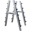 Legend 10-Pair Barbell Rack
