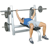 Inflight Fitness Olympic Bench