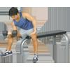 Inflight Fitness Flat Bench