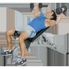 Inflight Fitness FID Bench