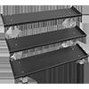 Inflight Fitness 3-Tier Dumbbell Rack System