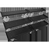 Inflight Fitness Mega 3-Tier Dumbbell Rack System