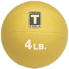 Body-Solid Medicine Ball - 4 lbs (Yellow)