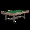 Brunswick Edinburgh 8 ft Pool Table - Metal Base