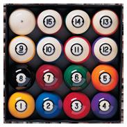 Brunswick Centennial Pocket Balls Standard Edition