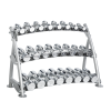 Hoist CF-3462-3 3-Tier Beauty Bell Rack