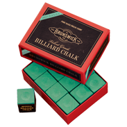 Brunswick Billiard Chalk - 144 piece, Green