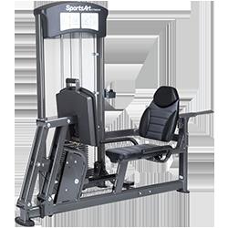 SportsArt DF-101 Leg Press & Calf Extension