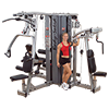 Body-Solid Pro Dual 4-Stack Gym Frame