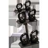 Body-Solid GDKR50 - 3 Pair Kettlebell Rack