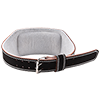 GoFit Padded Etched Leather Weightlifting Belt - Medium