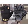 GoFit Diamond-Tac Weightlifting gloves - Large