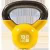 GoFit 10 lbs Kettlebell