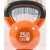 GoFit 25 lbs Kettlebell