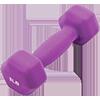 GoFit 3 lbs Neoprene Dumbell