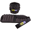 GoFit 5 lb Padded Pro Ankle Weights