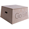 GoFit 12 inch Premium Wood Plyobox