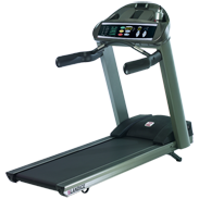 Landice L8 Treadmill with Pro Trainer Control Panel