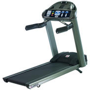 Landice L8 Treadmill with Pro Sport Control Panel (Orthopedic Belt) - Floor Model