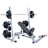 Legend Pro Series Olympic Incline Bench