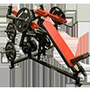 Legend LeverEDGE Unilateral Converging Incline Bench Press