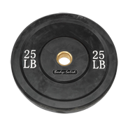 Body-Solid 25 lb. Bumper Plate (Black)