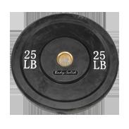 Body-Solid 25 lb. Bumper Plate (Black)