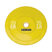 Body-Solid 25 lb. Bumper Plate (Yellow)