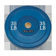 Body-Solid 35 lb. Bumper Plate (Blue)