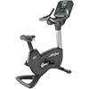 Life Fitness Platinum Club Series Upright Cycle with Explore Console
