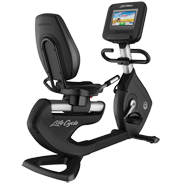 Life Fitness Platinum Club Series Recumbent Cycle with 10 inch Discover SI Tablet Console