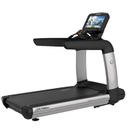 Life Fitness Platinum Club Series Treadmill with 19 inch Discover SE Tablet Console