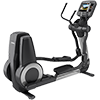 Life Fitness Platinum Club Series Elliptical with 16 inch Discover SE3 Tablet Console