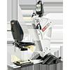 SCIFIT PRO1000 Upper Body with Premium Seat