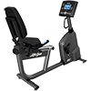 Life Fitness RS1 Recumbent LifeCycle with Go Console