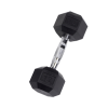 12 lb Rubber Coated Hex Dumbbell