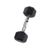 8 lb Rubber Coated Hex Dumbbell