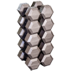 Hex Dumbell Set (2 each): 80, 85, 90, 95 and 100 lb.