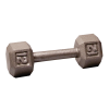 Body-Solid Cast Hex Dumbbell - 12 Lb.
