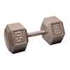 Body-Solid Cast Hex Dumbbell - 65 Lb.