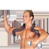 Body-Solid Shoulder Horn Harness - Large