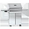 Memphis Pro Wood Fire Grill (Cart) - 304 SS Alloy
