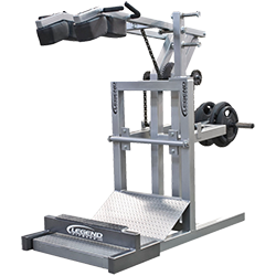 Legend Squat Machine with Calf Blaster